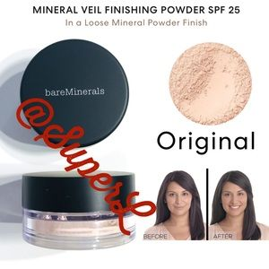 2/$30 Bare Minerals MINERAL VEIL FINISHING Powder